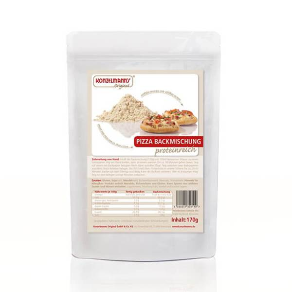 Konzelmanns Original Low Carb Pizza Backmischung 170 g Beutel
