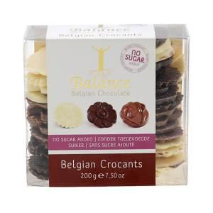 Balance Belgian Crocants Krokantpralinen mit Schokolade ohne Zuckerzusatz 200 g