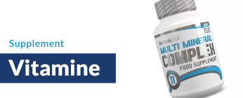 Nahrungsergänzungsmittel Vitamine kaufen, Vitamintabletten