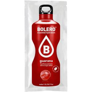 Bolero Instant Erfrischungsgetränkepulver 9 g Beutel GUARANA für 1,5 l fertiges Getränk! Bolero Instant Getränkepulver Beutel für fertiges Getränk.