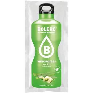 Bolero Instant Erfrischungsgetränkepulver 9 g Beutel LEMONGRASS für 1,5 l fertiges Getränk! Bolero Instant Getränkepulver Beutel für fertiges Getränk.