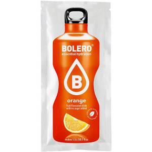 Bolero Instant Erfrischungsgetränkepulver 9 g Beutel ORANGE für 1,5 l fertiges Getränk! Bolero Instant Getränkepulver Beutel für fertiges Getränk.