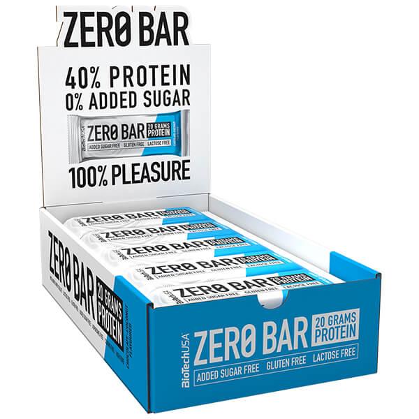 Biotech USA Zero Bar Schokolade-Kokos Proteinriegel 20 x 50 g