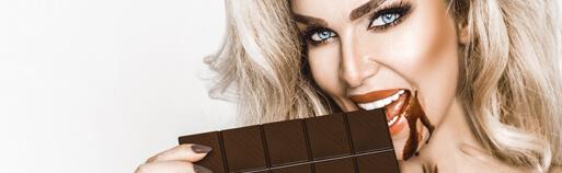 Zuckerfreie Lebensmittel Schokolade ohne Zucker. Zuckerfreie Schokolade online kaufen im Shop.