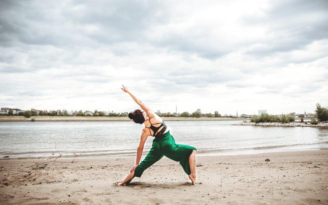 Yogalehrerin Lena Henning