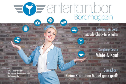 Eventagentur_Zuckerzahn_Koeln_Partner_entertain bar_Bordmagazin