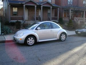 2001 VW New Beetle 2.0L