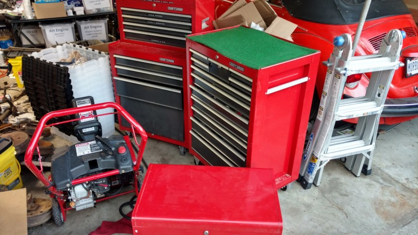New Used Tool Cabinets