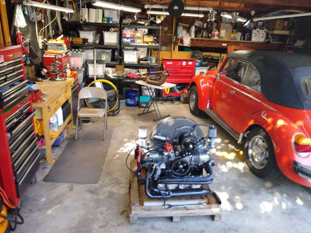 The Garage of Love ready for winter