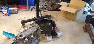 AE Engine - Oil draining