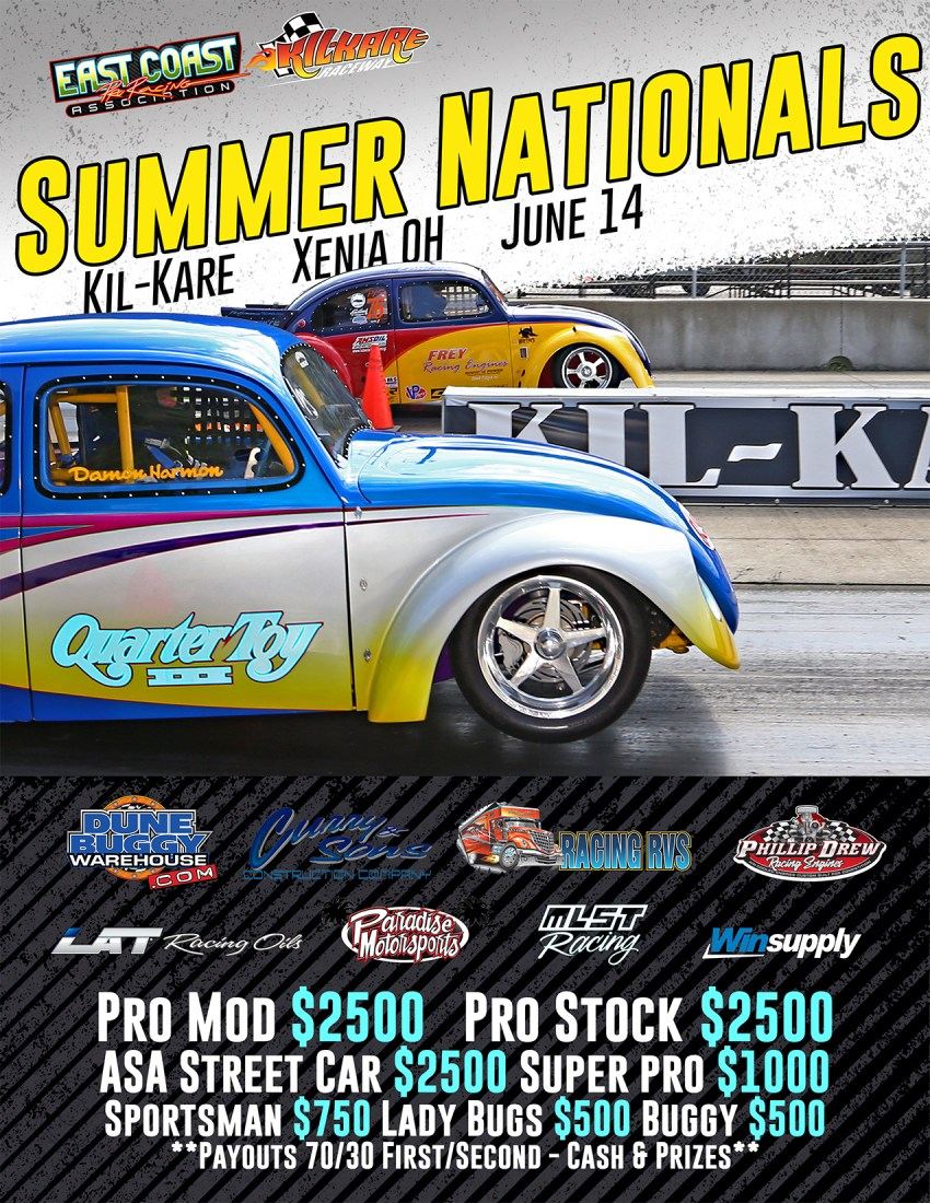 2020 VW Summer Nationals on June 14th at Kil-Kare Raceway.