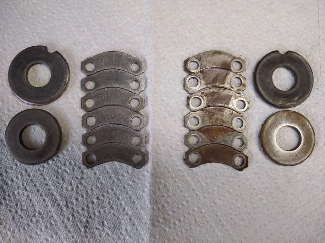 1979 VW Beetle - Axle Washers - Pivot Washers