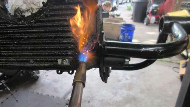 Tearing Down AJ Engine #2