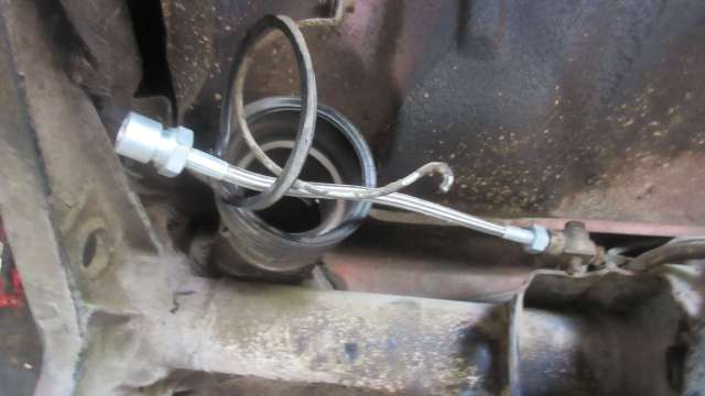 1979 VW Beetle - Chassis Fork & Trans Area