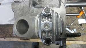 2020 Engine Build - Fuel Pump Block Off