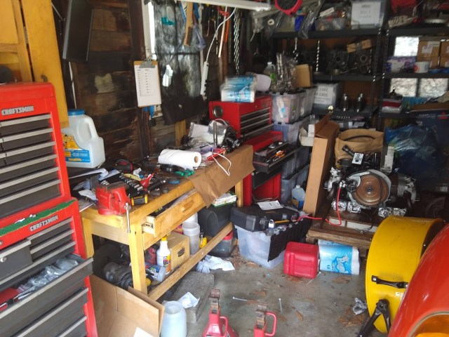 Drive & Garage Clean Up Day