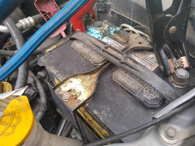 Subaru Battery Terminal Corrosion