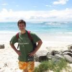 Ryan Biddulph in Scotland PR David Sawyer's Be Nice Blog Post.