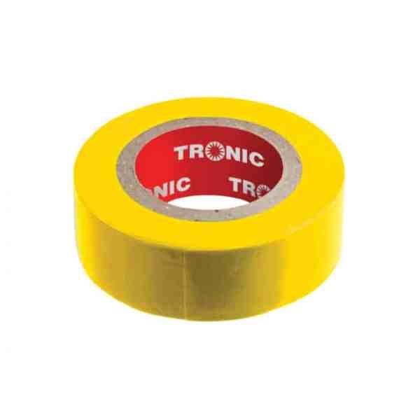 00b54bae743abc0589c6c050292bfce5 1 - Insulating Tape Yellow 20yards Tronic IT 01YL-20