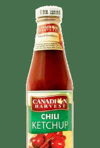 12oz 340g - Canadian Harvest 12oz (340g) - CH Chili Ketchup Glass Bottle - 24 pcs