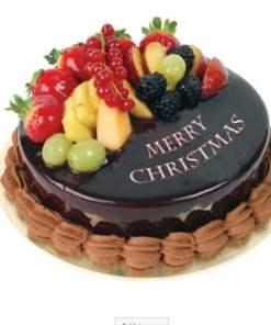 christmas fruit cake yummycake - Christmas Fruit Cake