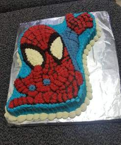 spiderman chocolate - Spiderman Chocolate flavour With Soft Butter Icing 1KG