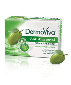 DABUR Dermoviva Antibactarial Soap 125GM X 72 - DABUR Dermoviva Antibactarial Soap 125GM X 72