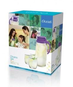 DivanoPack7 550x550h - OCEAN JUG SET DIVANO WITH 6PCS GLASS 1660ML 3GS000007G0102