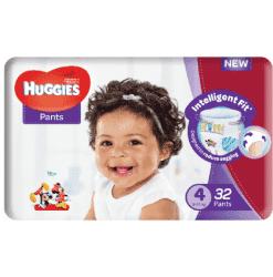 Product 10 1 - NEW UNISEX HUGGIES PANTS SIZE 4 (32x4)