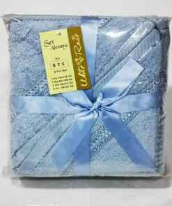 WhatsApp Image 2020 06 03 at 7.42.44 PM 1 - Ladies Bath robe set - Sky Blue Color