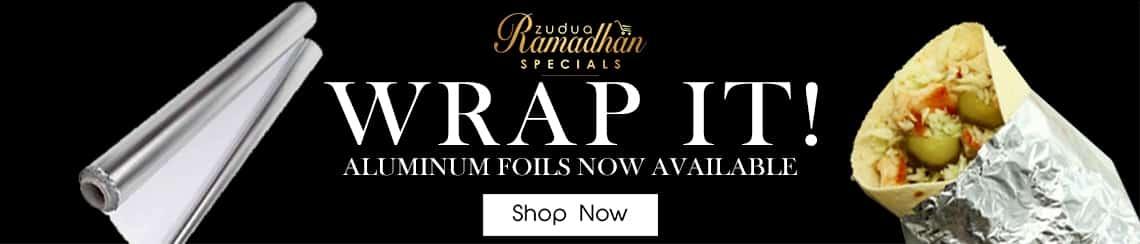 Wrap it foil - Ramadhan