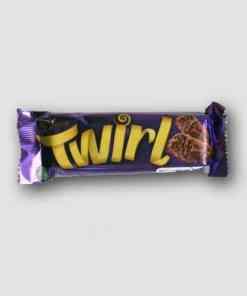 cadbury twirl 43g - Twirl chocolate bar 43g