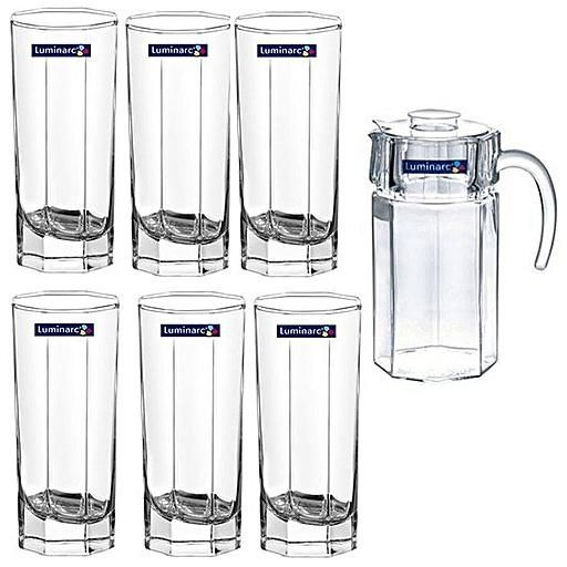 octime 7pc wswt - Luminarc Octime 7pc Water Set N0789