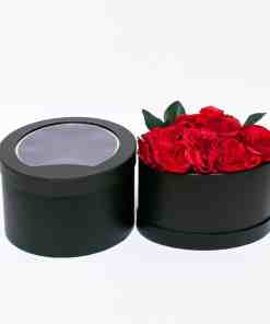 oval rose - Oval See Through Flower Box