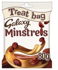 snapshotimagehandler 706198247 - Galaxy Minstrels Chocolate Treat Bag 80G