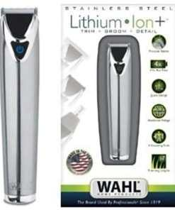 unnamed 10 1 - WAHL 9818-127 Lithium Iron Stainless Steel Trimmer