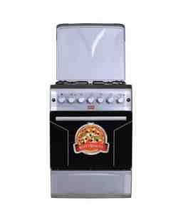 voninox57x582 - Von HotPoint 3 Gas and 1 Electric Burner cooker- FS6SL31E2.W ( NEW )