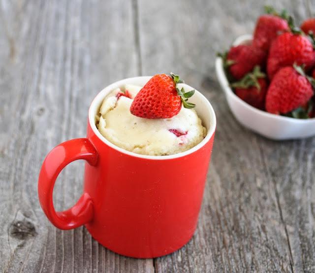 ZUGA Premium Strawberry Mug Cake Recipe