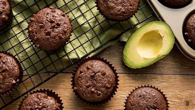 Chocolate Avocado Muffins Recipe