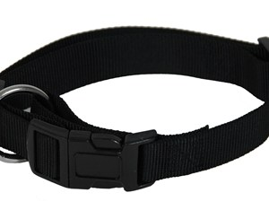 Martin sellier halsband basic nylon zwart