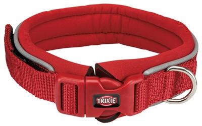 Trixie premium halsband hond neopreen rood