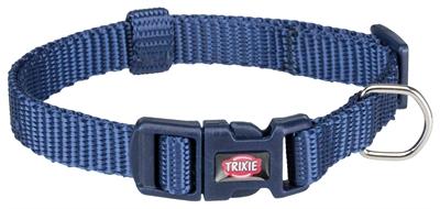 Trixie premium halsband hond indigo