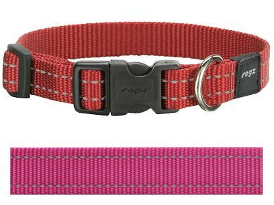Rogz for dogs snake halsband roze