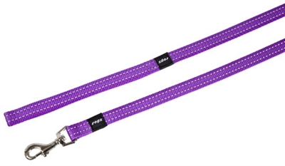 Rogz for dogs snake long lijn paars