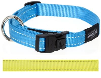 Rogz for dogs nitelife halsband geel