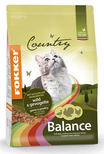 Fokker kat country balance wild/gevogelte