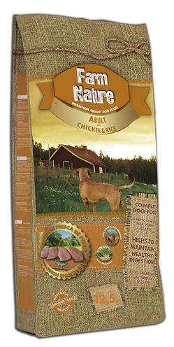Farm nature chicken / rice
