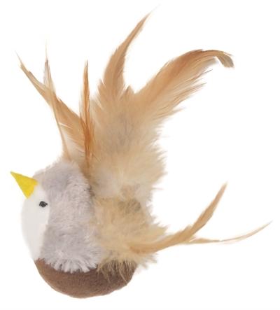 Rosewood vogel met canip en dierengeluid