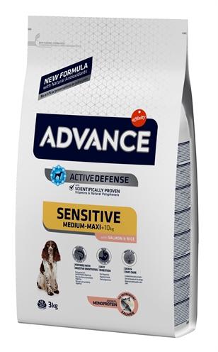 Advance sensitive salmon / rice