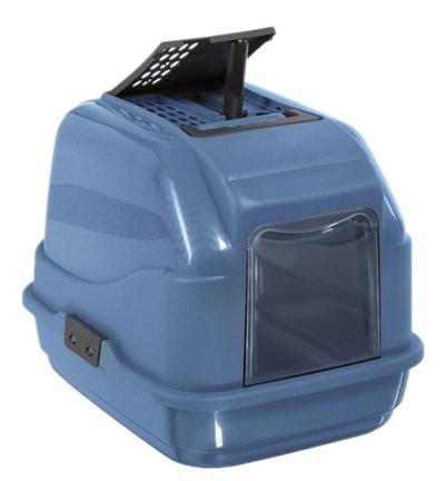 Imac kattenbak easy cat 2nd life blauw